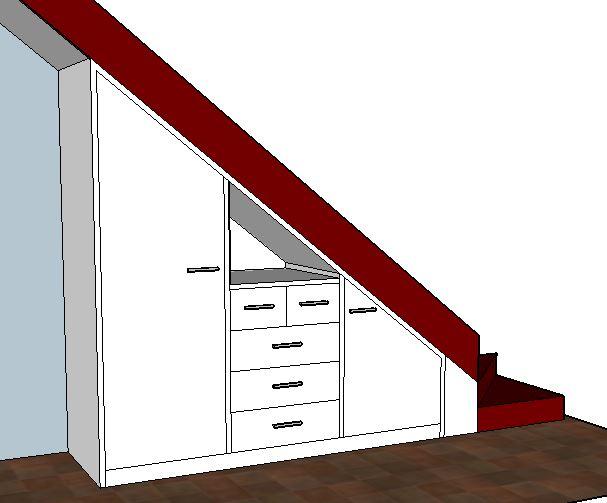 Meuble sous escalier brodie agencement - Meuble sous escalier sur mesure ...