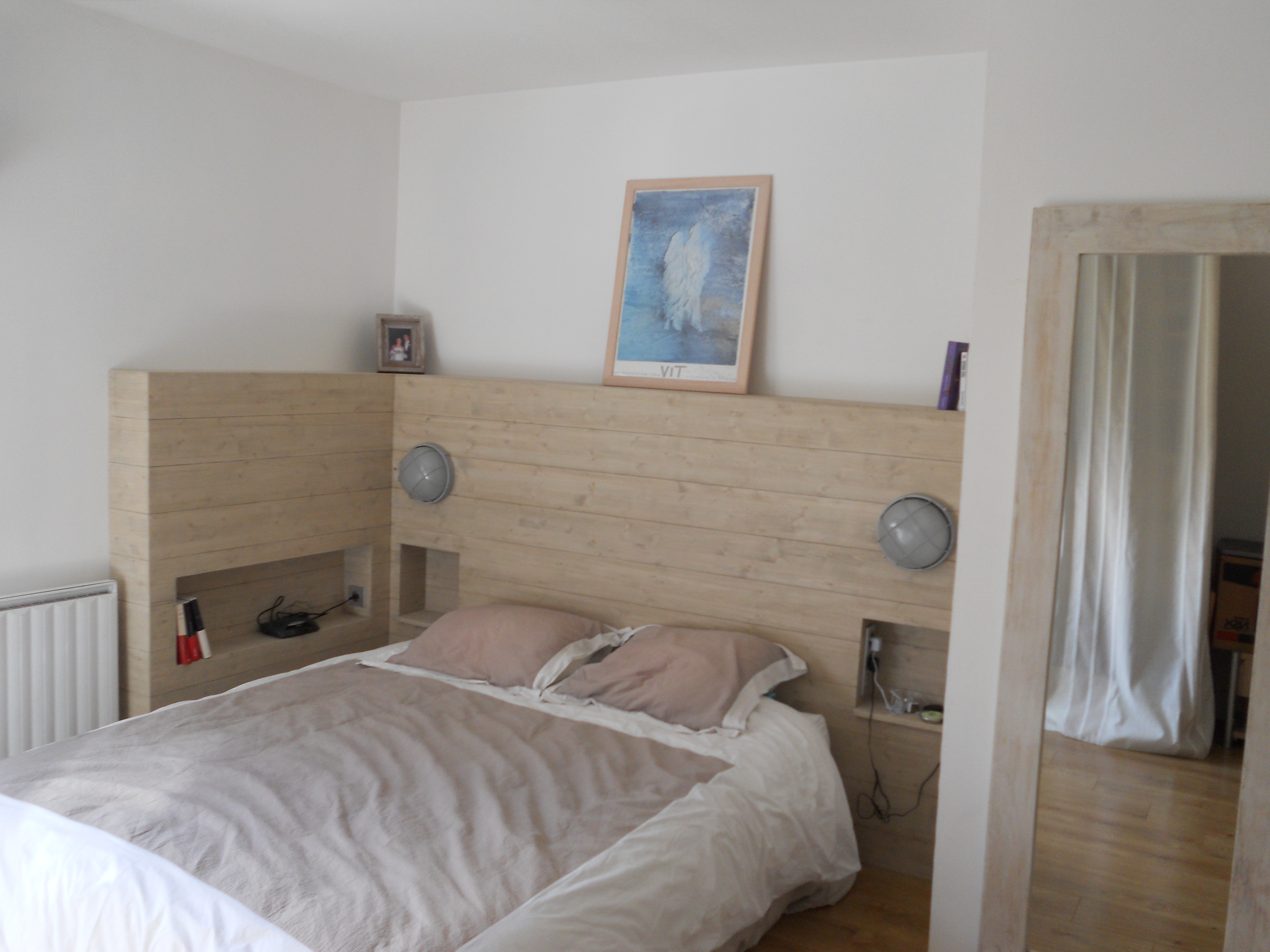 tete de lit tasseau fixer tous vos tasseaux entre eux en reprenant la premire mthode utilise pr. Black Bedroom Furniture Sets. Home Design Ideas